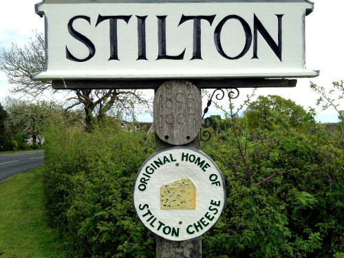 In case there was ANY doubt, Stilton is the Home of #Stilton #Cheese ... YES... :) #645Pro #iPhoneography #MobiTog