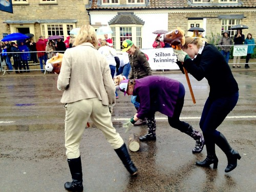#Stilton ladies show how it rolls in the wet... #Cheese #Rolling #iPhoneography #645Pro #MobiTog